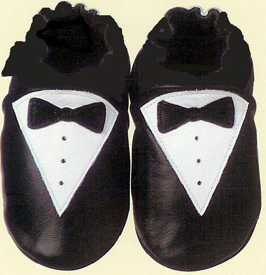 Baby Tuxedo Shoes - Super cute!