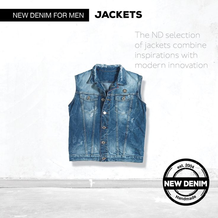 The ND selection of jackets combine inspirations with modern innovation.