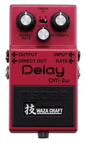 Boss DM-2W Delay Waza Craft Special Edition Delay Guitar Effects Pedal