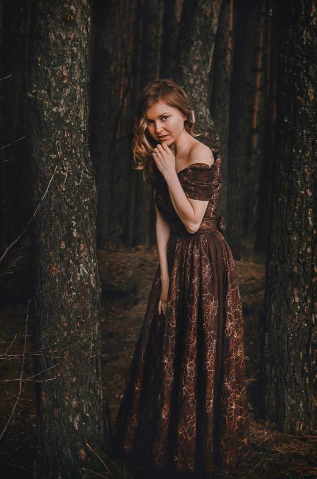 """Сказочное платье....Винтаж 2014,мод. """"Фиоре"""""""