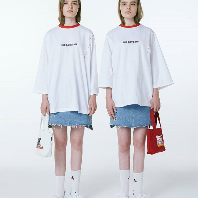 2nd collection open!  A Twin !  now.  adererror.com  #ader#adererror