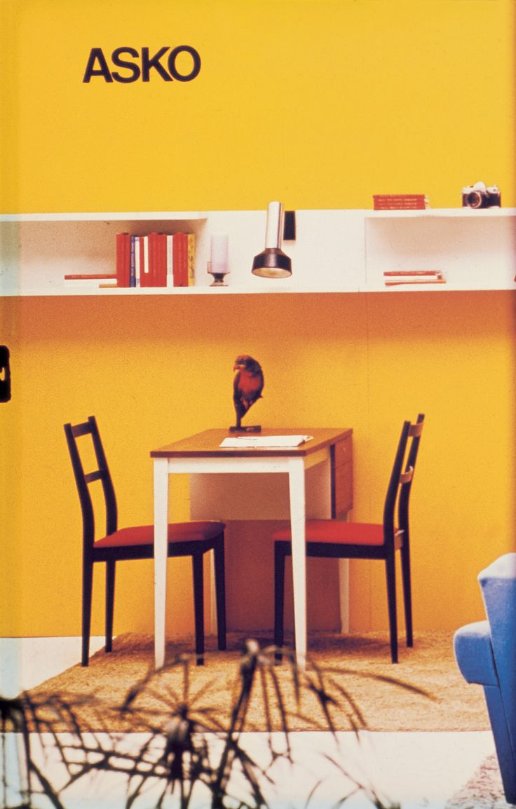 Askon pieni ruokapöytä - Askon vanha mainos