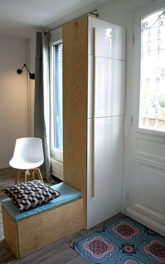 les 25 meilleures idées de la catégorie banc rangement pour hall d ... - Petit Meuble Entree Design