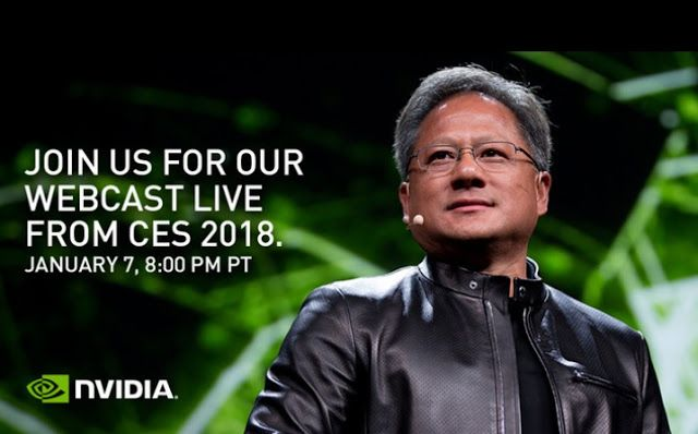 How to watch Nvidia CES 2018 press conference live stream