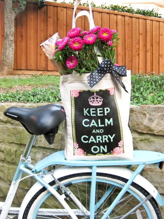 Keep Calm and Carry On! Gotta love it!: Girl, Bicycles Baskets Blooms, Keepcalm, The Bicycle, Keep Calm, Basket Bike, Bicycle