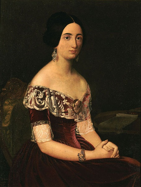 Dame, by Dionysiois Tsokos. National Gallery of Athens