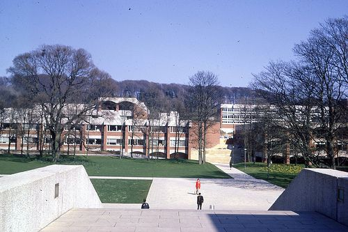 University of Sussex, Brighton c1967 This is the college I want to go to!!!