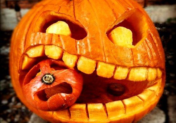 Képeken 7 látványos Halloween-tök, ami a szobád dísze lehet | femina.hu