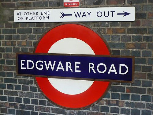 P239 - Edgware Road Tube Station by philbeth, via Flickr