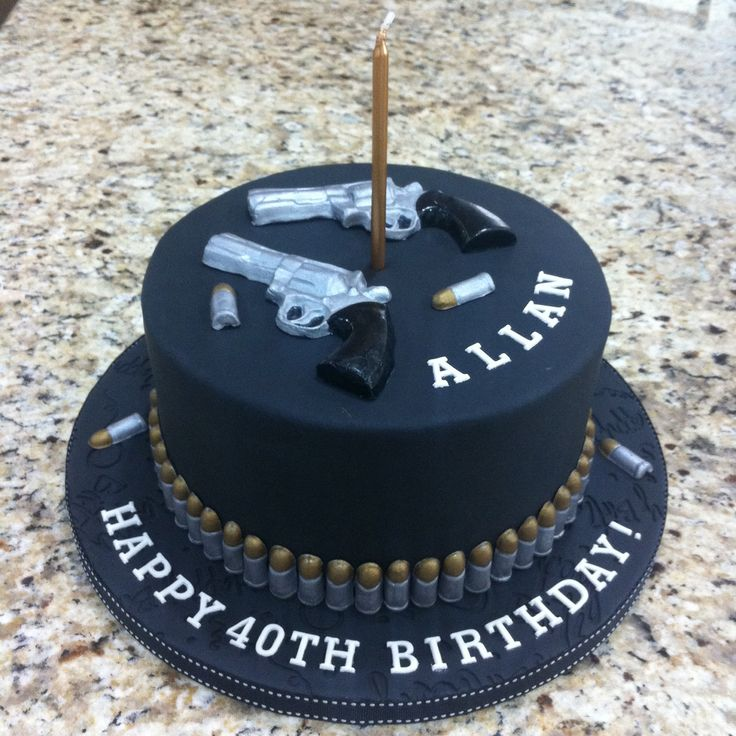 Guns And Bullets Cake My Cakes In 2019 Cake Desserts