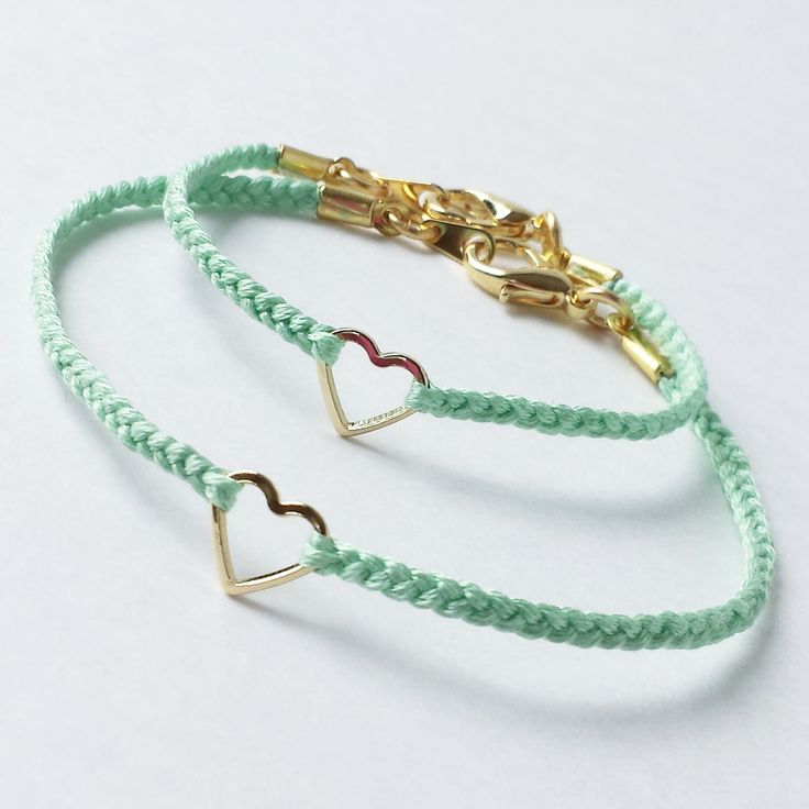 Mommy and Me Set P.S. I Love You mini gold heart