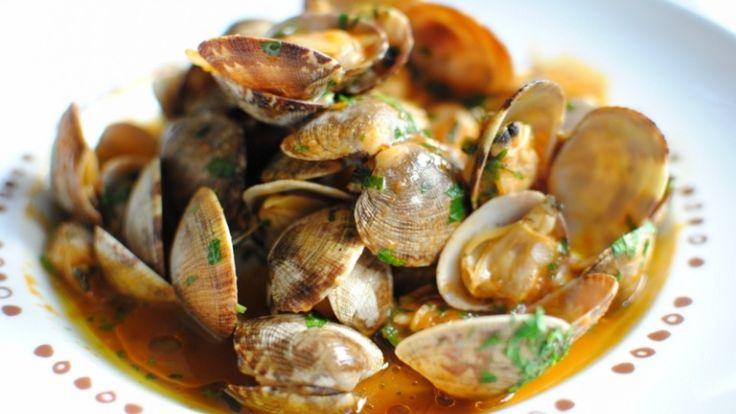 Vongole alla marinara con salsa di ostriche cinesi, cucina cinese