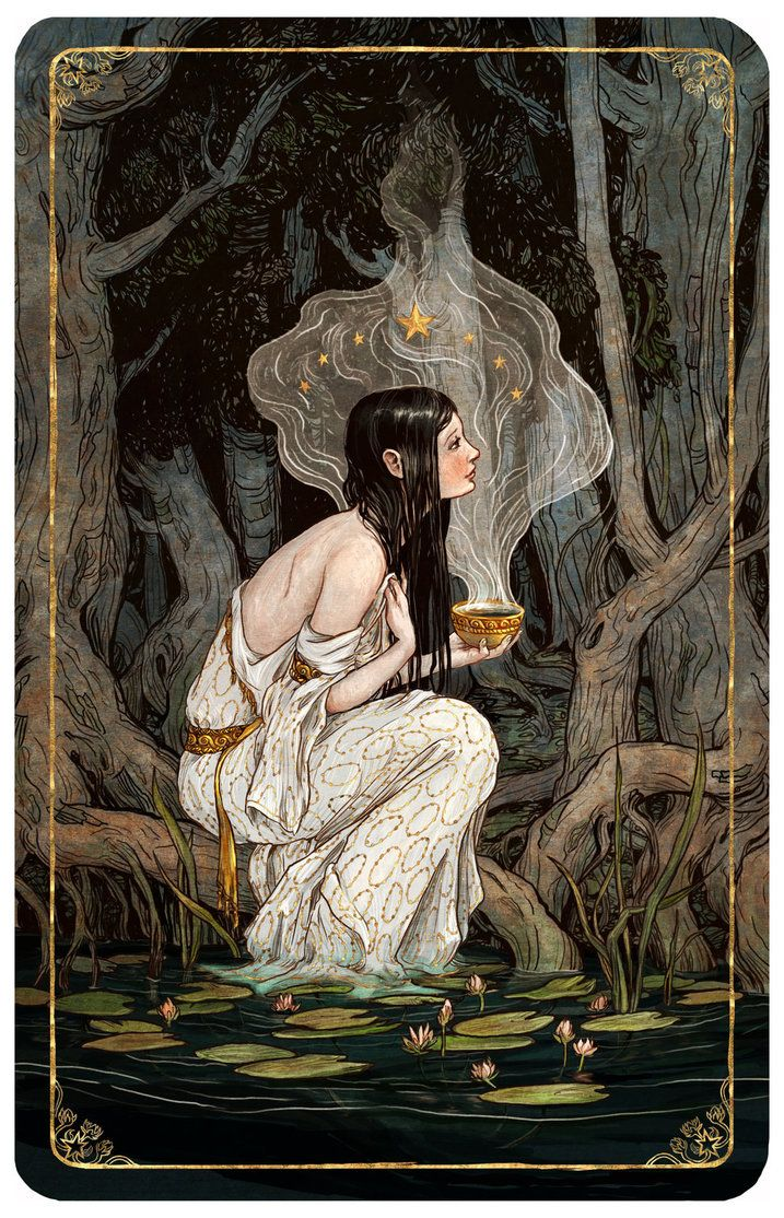 Tarot, The Star by bluefooted
