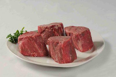 Outstanding taste and texture from the heart of the beef tenderloin. High heat is the usual method for cooking - grilling, pan frying, broil...