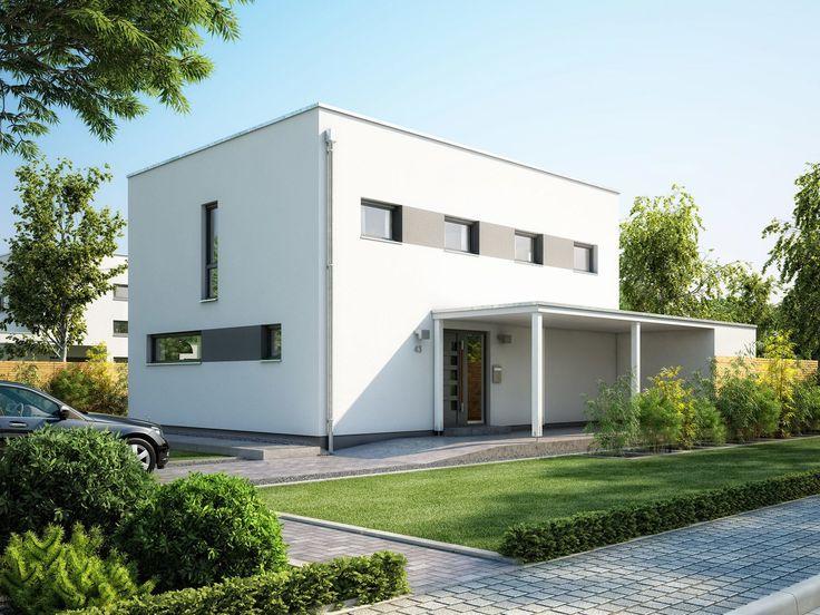 Musterhaus modern flachdach  18 besten Bauhaus, Cubus Bilder auf Pinterest | Einfamilienhaus ...