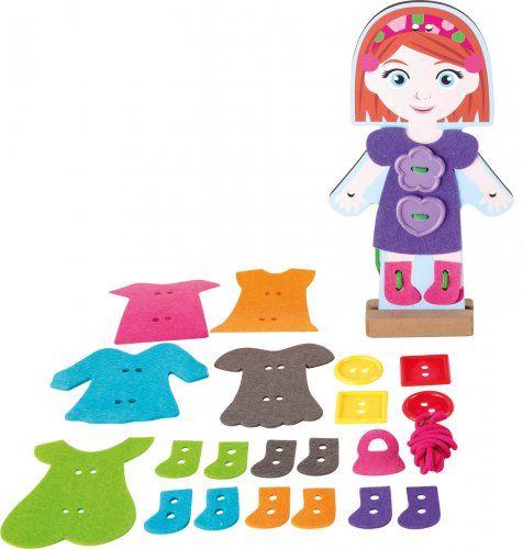 Ντύσε το κορίτσι/ Girl threading dressing doll