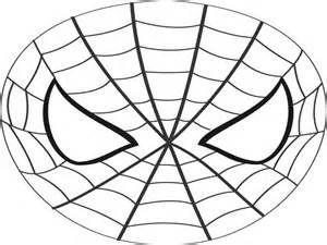 super hero mask template spiderman mask printable coloring ...