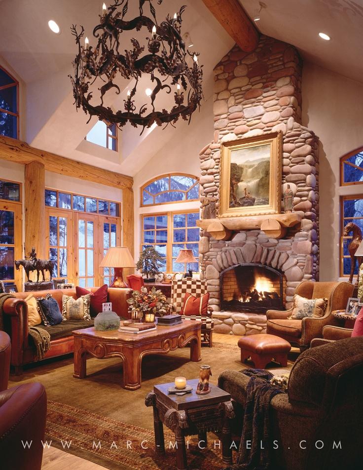 15 Best Rustic Lodge Residences Images On Pinterest Luxury Interior Design Interior Design