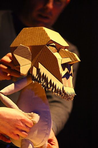 Blind Summit Theatre puppet.                                                                                                                                                                                 More