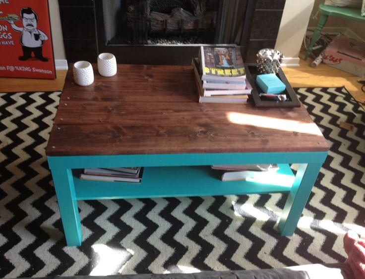 Diy ikea hack coffee table ikea hacks ikea and lack for Diy ikea lack table