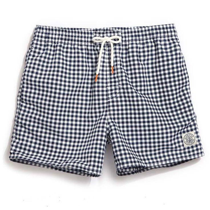 Mens board shorts summer surf shorts men running liner swimming trunks male swimwear shorts quick drying men's beach wear A7