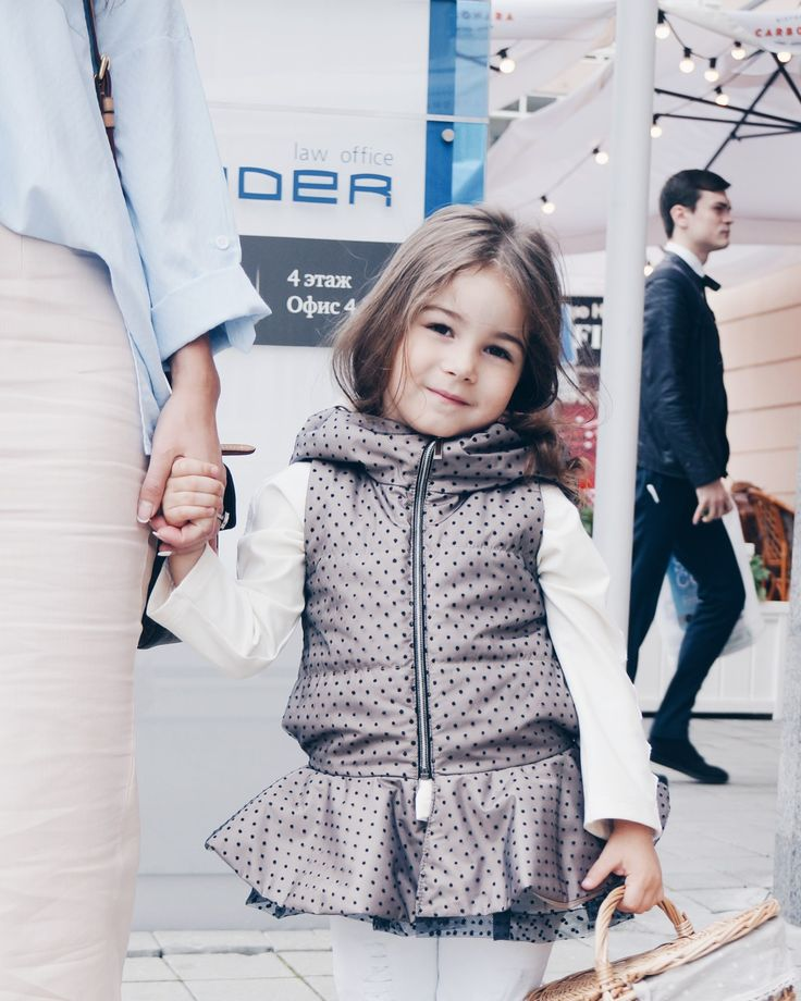 Girls wear by IVanskayaVIberg. Made in Russia. Одежда для девочек. Детская одежда. Утепленный жилет для девочки. Girls jacket.
