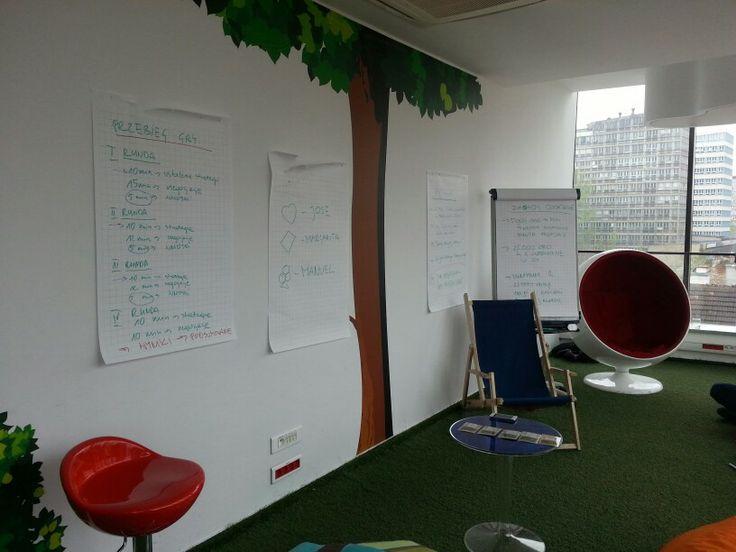 Negocjacje odbywały się w pokoju kreatywnym