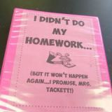 Pinterest Pick: No Homework Binder