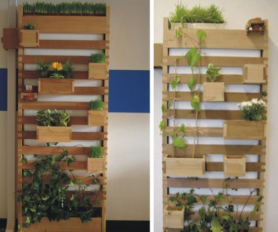 17 best images about vertical gardens on pinterest for Vertical planter boxes