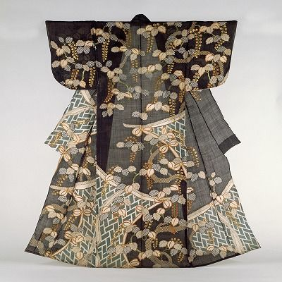 Unlined kosode , 17th to early 18th century, Japan. Nara Museum of Art