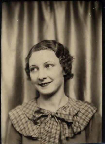 Vintage Photobooth - this looks like my grandma!