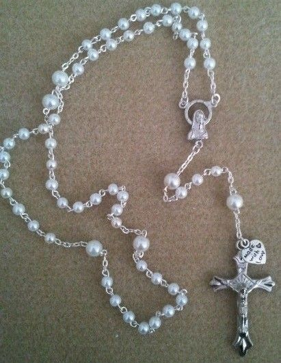 how to make a rosary with string