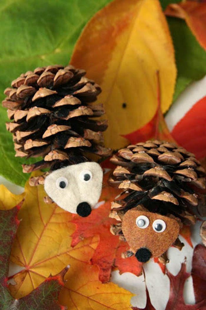 Inspirierende Ideen für Herbstbasteln mit Kindern