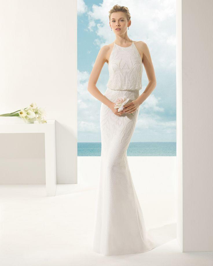 - Rosa Clará Soft 2016 Bridal Collection : http://www.itakeyou.co.uk/wedding/rosa-clara-2016-wedding-dress #weddingdress #weddinggown