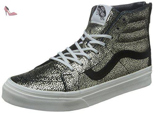 Vans Sk8-Hi Slim Zip Gold Dots Gold Black 37 - Chaussures vans (*Partner-Link)