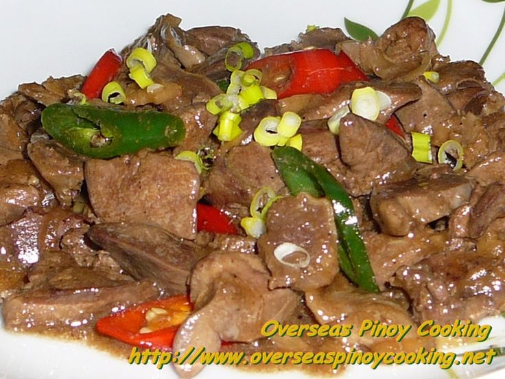 132 best gizzard wizard images on pinterest wizards chicken stirfry chicken gizzard and liver with oyster sauce overseas pinoy cooking ccuart Choice Image