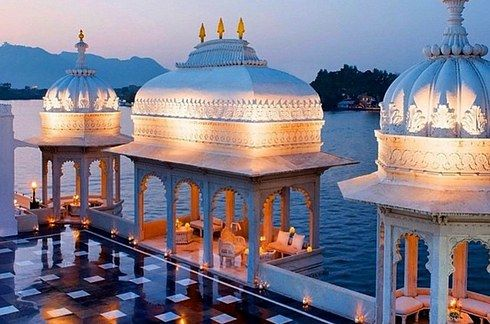 Taj Lake Palace, Udaipur. The Most Luxuriously Expensive Hotels In India. Luxury hotels. Well living hotels. Take a look at: www.bocadolobo.com