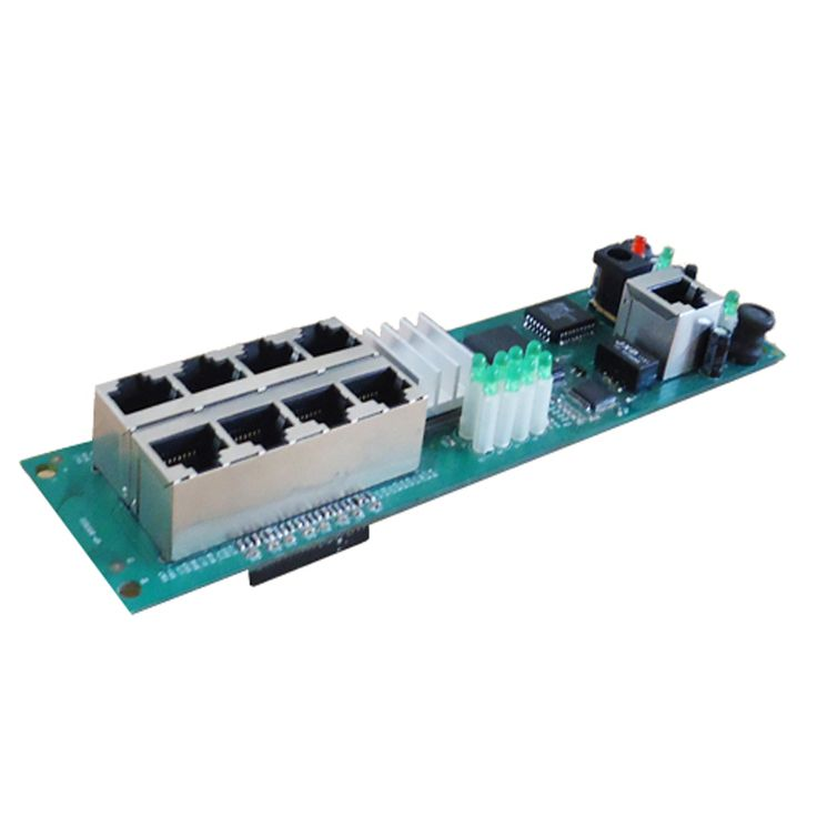 manufacturer direct sell cheap wired distribution box 8-port router modules OEM wired router module 192.168.0.1 #Affiliate