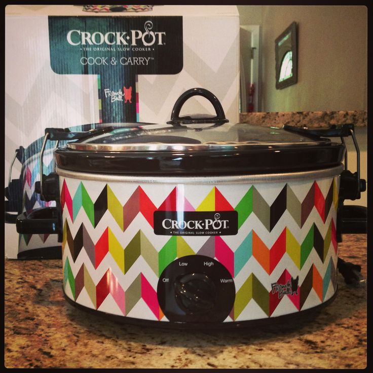 Crockpot designed by French Bull at Target!