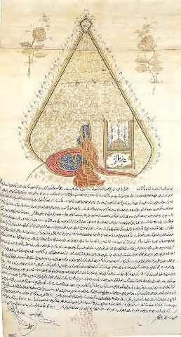 Ferman of Sultan Selim III-1794