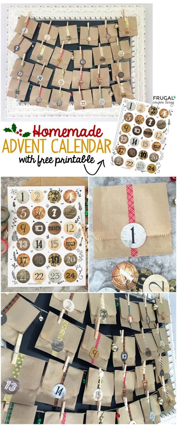 Homemade Calendar With Pictures : Best ideas about homemade advent calendars on pinterest