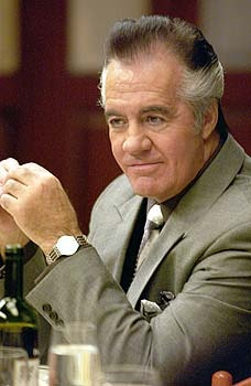Paulie Walnuts from the Sopranos was played by Tony Sirico.
