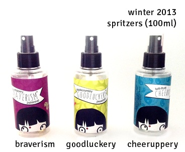 spritzers available for those wobbly occasions <3