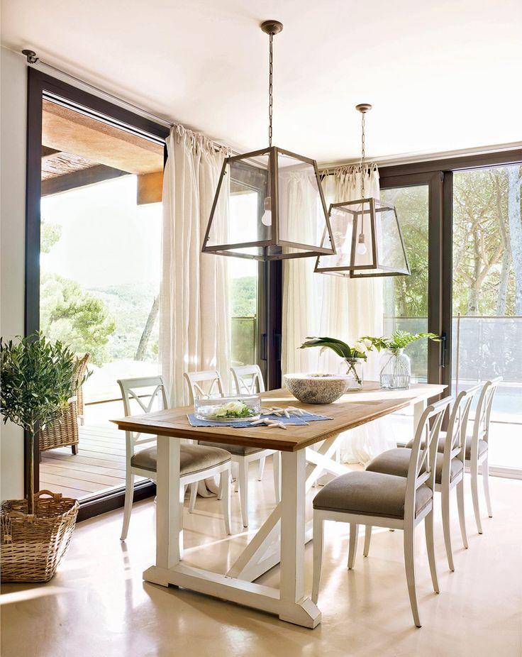 17 mejores ideas sobre lamparas colgantes para comedor en ...