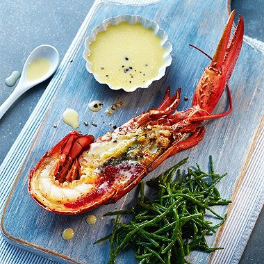 Lobster and Samphire with Garlic Aioli recipe - From Lakeland