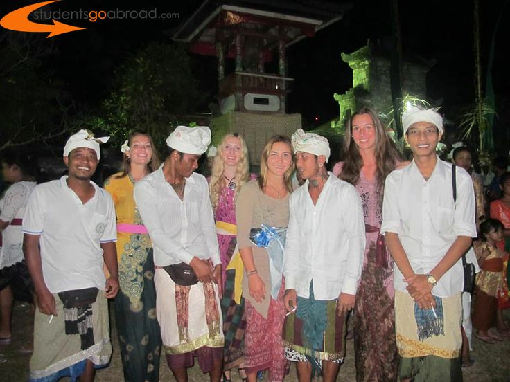 Meeting with locals in #Bali