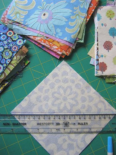 "Value quilt tutorial...I have enough fabric (""hidden"" from my husband at the back of the airing cupboard, bottom of the ironing pile, in seagrass boxes in the living room) to have a go at making at LEAST 10 of these! lovely tutorial, thanks!"
