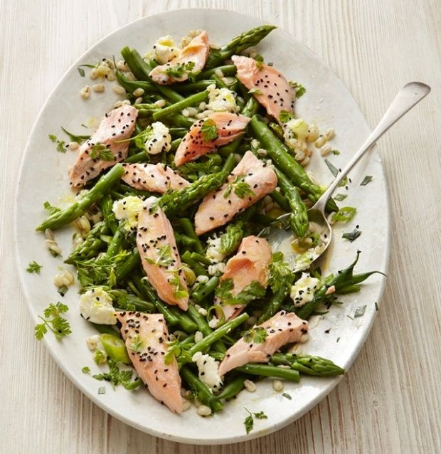 Salmon is often seen as the dull and predictable fish choice, but cooked with imagination and flair, it's really anything but boring