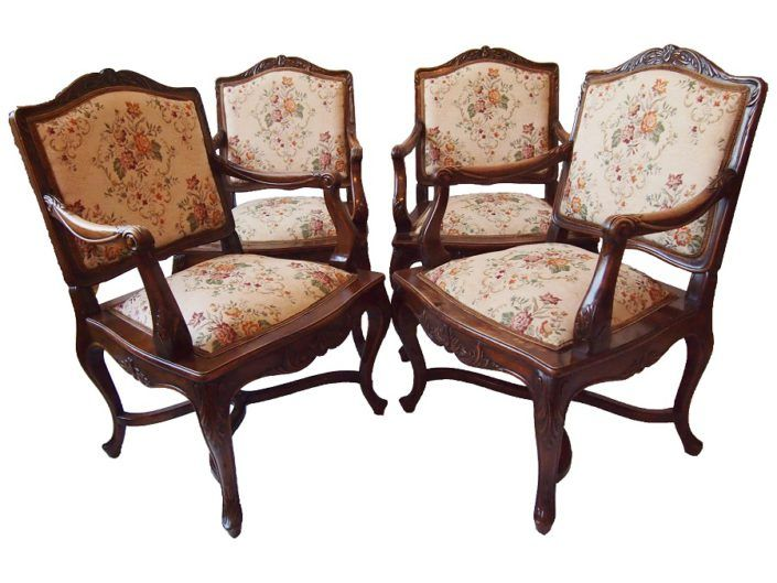 set of antique chairs