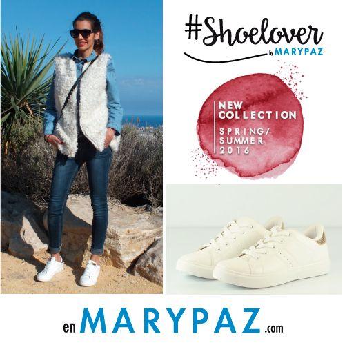 Look casual & Chic by #Shoelover MARYPAZ  #SS16 #specialprices #springsummer15 #blogger #shoeloverbyMARYPAZ #trendy #moda #tendencia #tipsShoeloverbyMARYPAZ #itsspring #springON #feelgood #feelMARYPAZ #primaveraverano15  ► http://www.missabyangelicasandoval.com/fashion/denim-furry-vest-casual  Compra ya estas DEPORTIVAS aquí ► http://www.marypaz.com/tienda-online/deportiva-trendy-58105.html?sku=73706-35